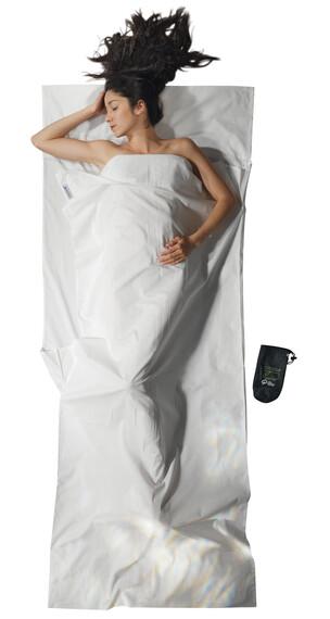 Cocoon TravelSheet - Sacos de dormir - Organic Cotton blanco